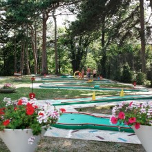 Minigolf in Bad Vöslau